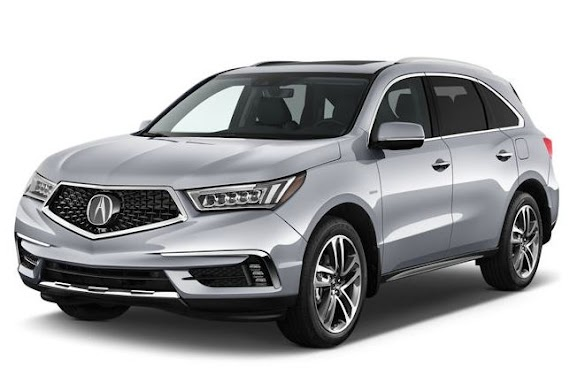The Best Luxury Hybrid Cars : 2018 Acura MDX Hybrid