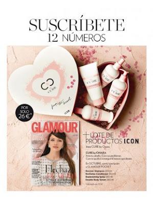 Revista Glamour octubre 2018 cuidarsealos50