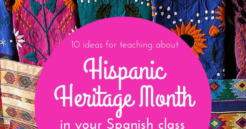 Hispanic Heritage Month Celebration Food