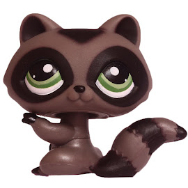 Littlest Pet Shop Tubes Raccoon (#450) Pet