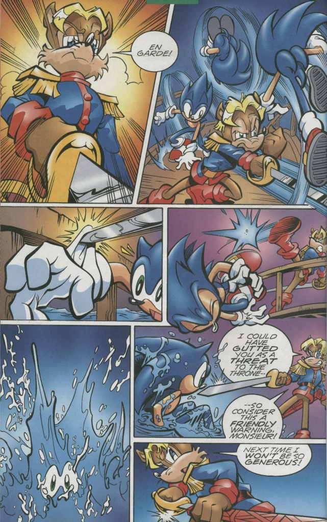 Read online Sonic The Hedgehog comic -  Issue #155 - 18