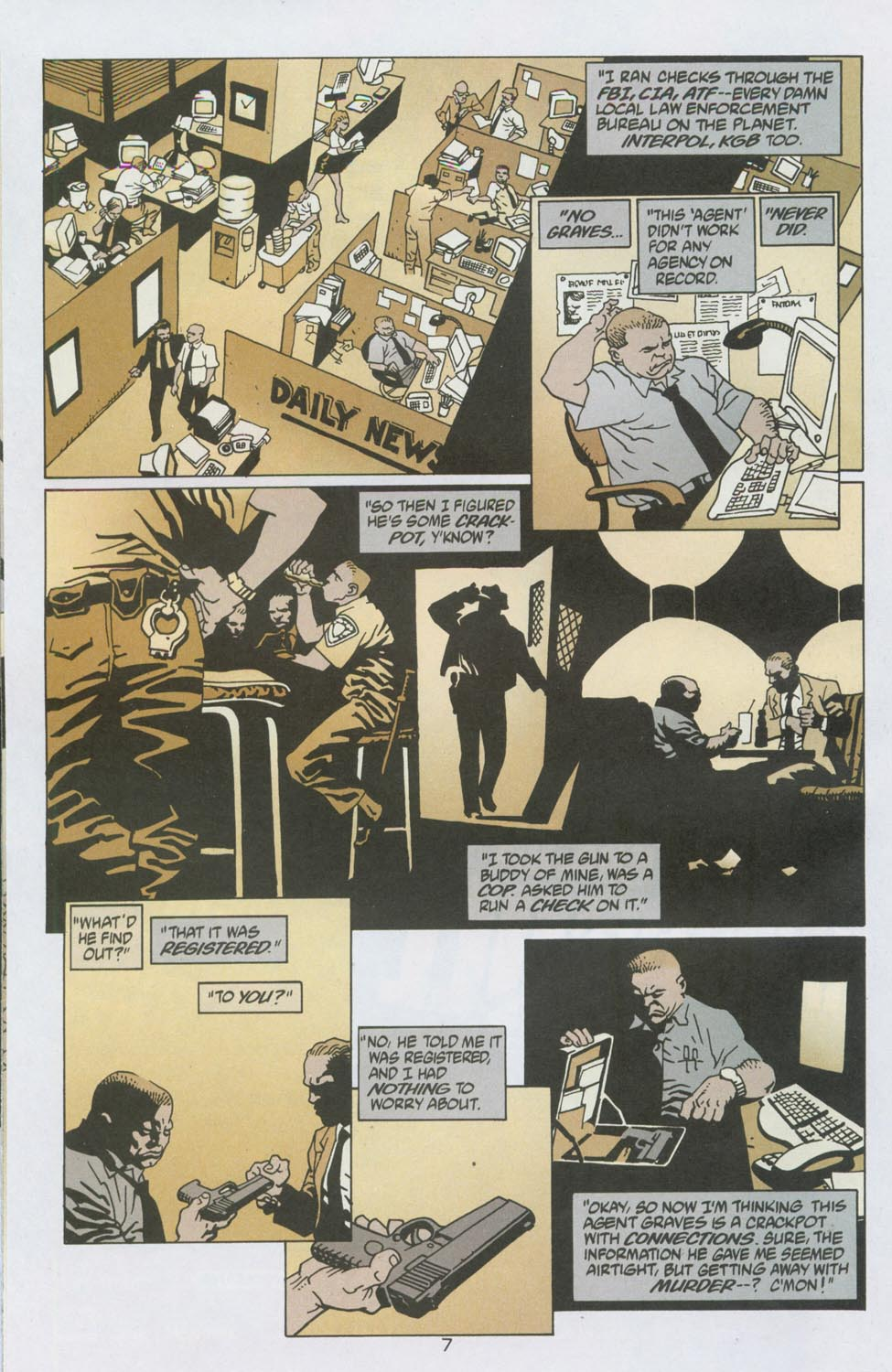 Read online 100 Bullets comic -  Issue #13 - 8
