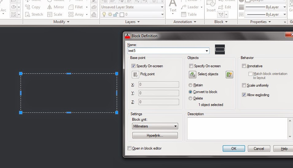 sirri's world: Autocad Dynamic Block, Stretching Procedure
