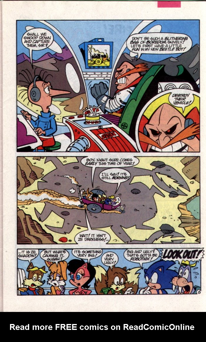 Read online Sonic The Hedgehog comic -  Issue #15 - 6