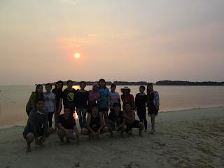 Sunset Pulau Pramuka