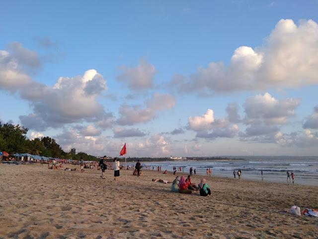 White Sand in Kuta Beach