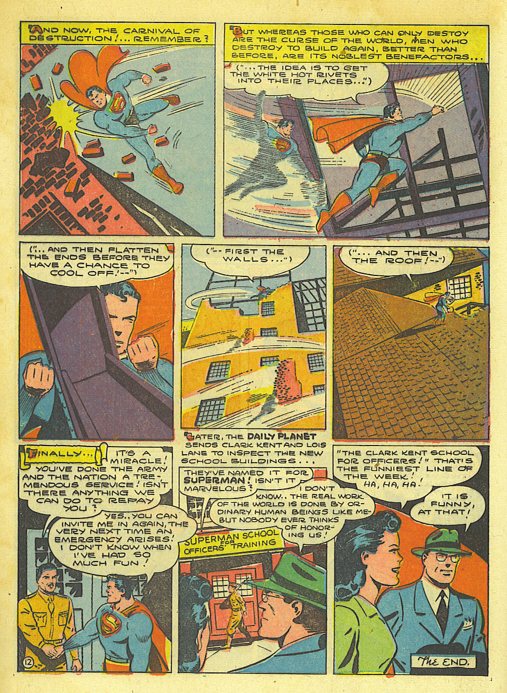 Read online Action Comics (1938) comic -  Issue #67 - 14