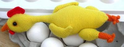 Idee per la Pasqua: Pulcini e galline ad uncinetto