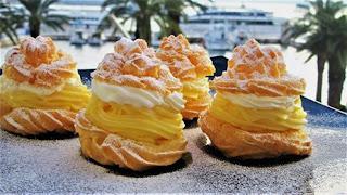 Princes krafne // Cream Puffs ( Princess donuts )