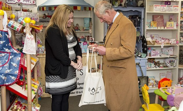 Prince Charles Caught Shoplifting