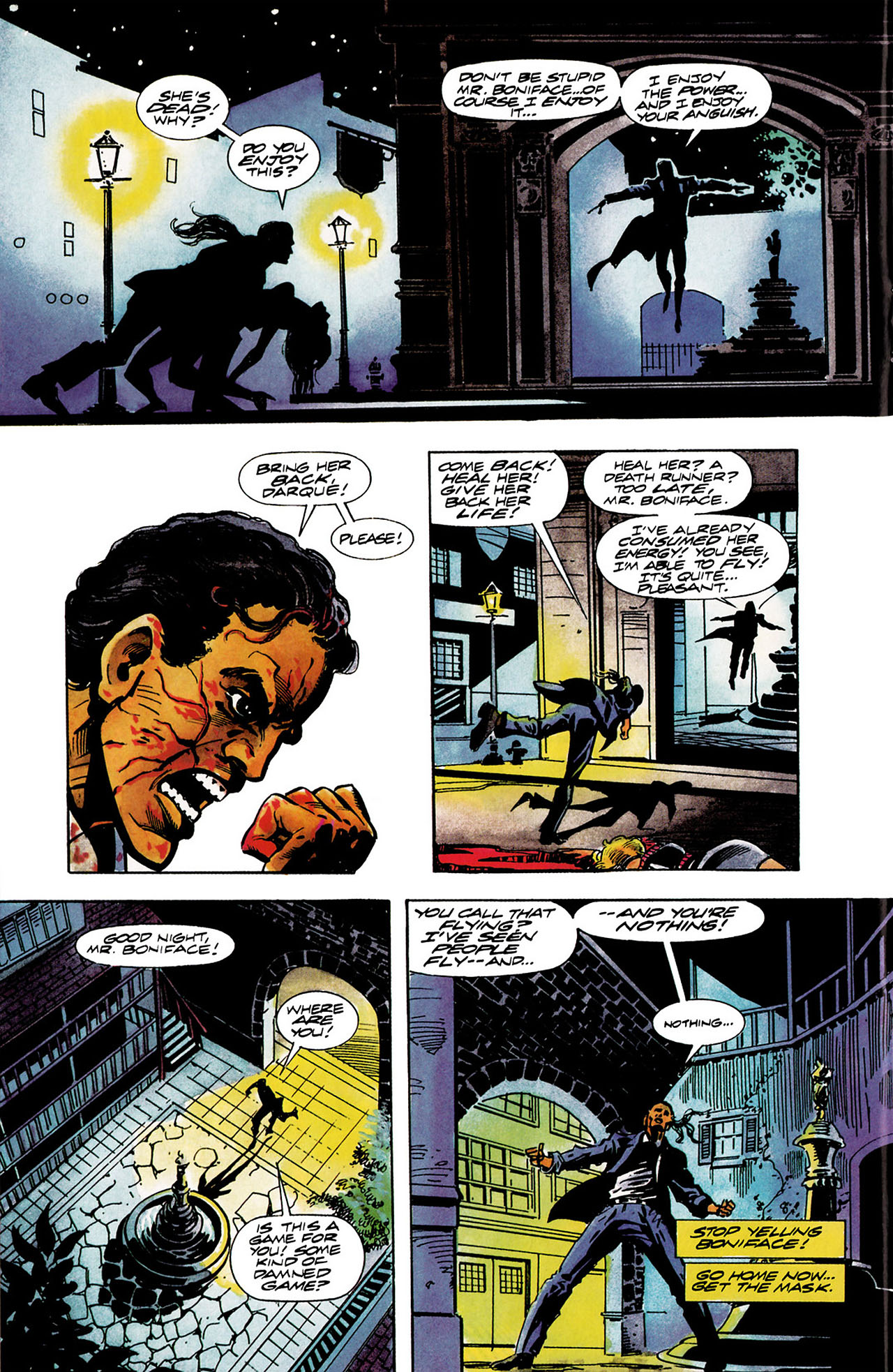 Read online Shadowman (1992) comic -  Issue #11 - 12