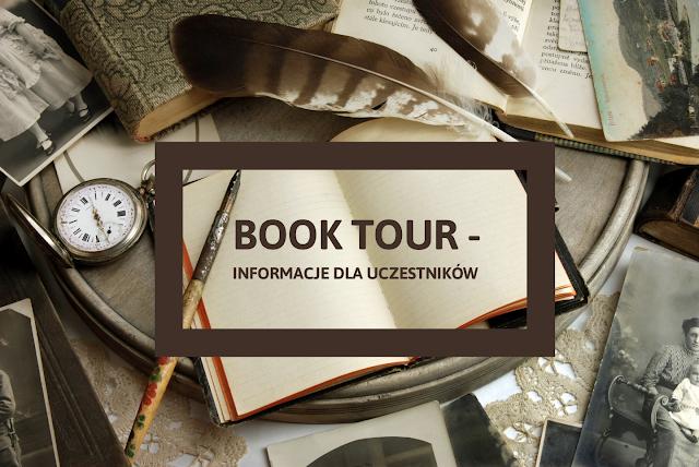 Book Tour Bookstagram - informacje dla uczestników