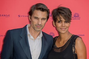 At Halle Berry and Olivier Martinez's son