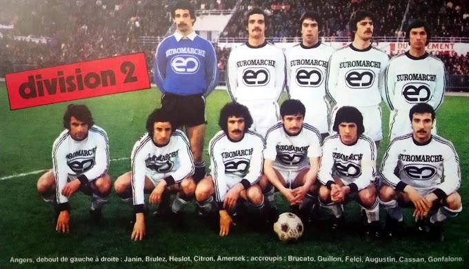 S.C.O ANGERS 1977-78.