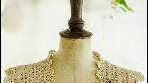 Bolero delicado al crochet