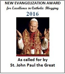 New Evangelization Award for excellence in Catholic blogging