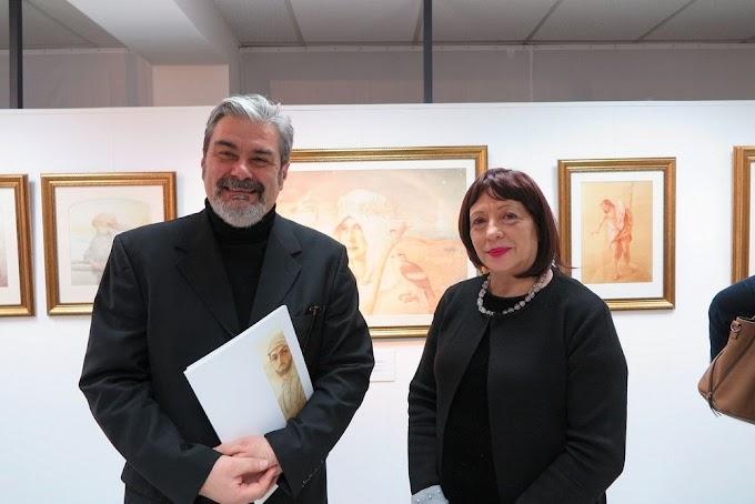 Художникът Борис Георгиев се завърна след 90 години отново в Берлин!