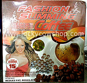 fashion slimming coffee with japan pearl extract