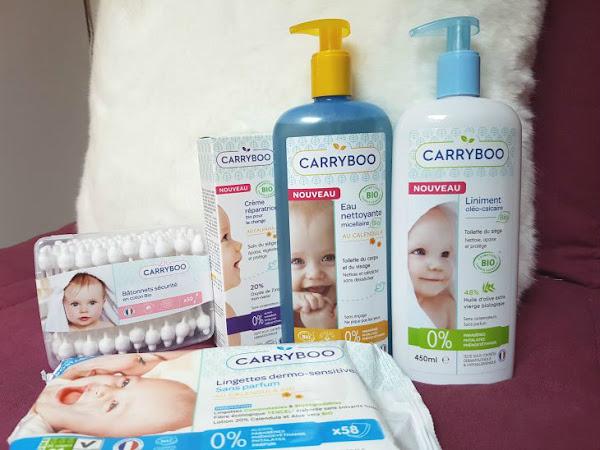 On a testé les produits bio Carryboo pour bébé !