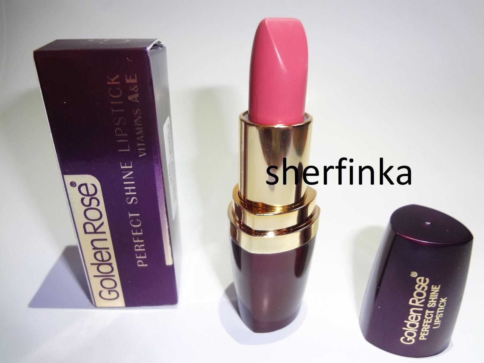 Sherfinka Golden Rose Perfect Shine Lipstick 240