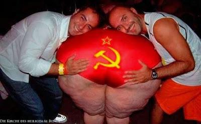 Party Hard - dickes Mütterchen Russland lustig