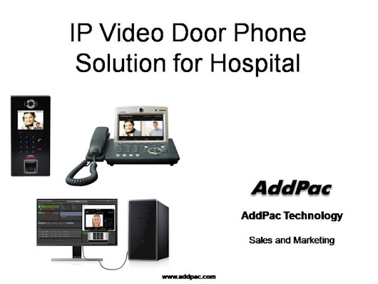 IP Video Door Access Control Solution for Hospital