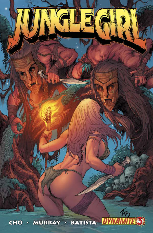 Read online Jungle Girl comic -  Issue #3 - 2