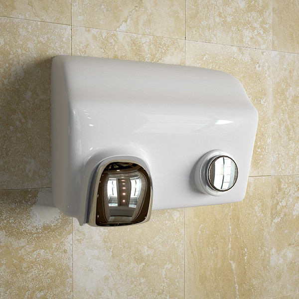 tort talk: beware of bathroom wall mounted hand dryers