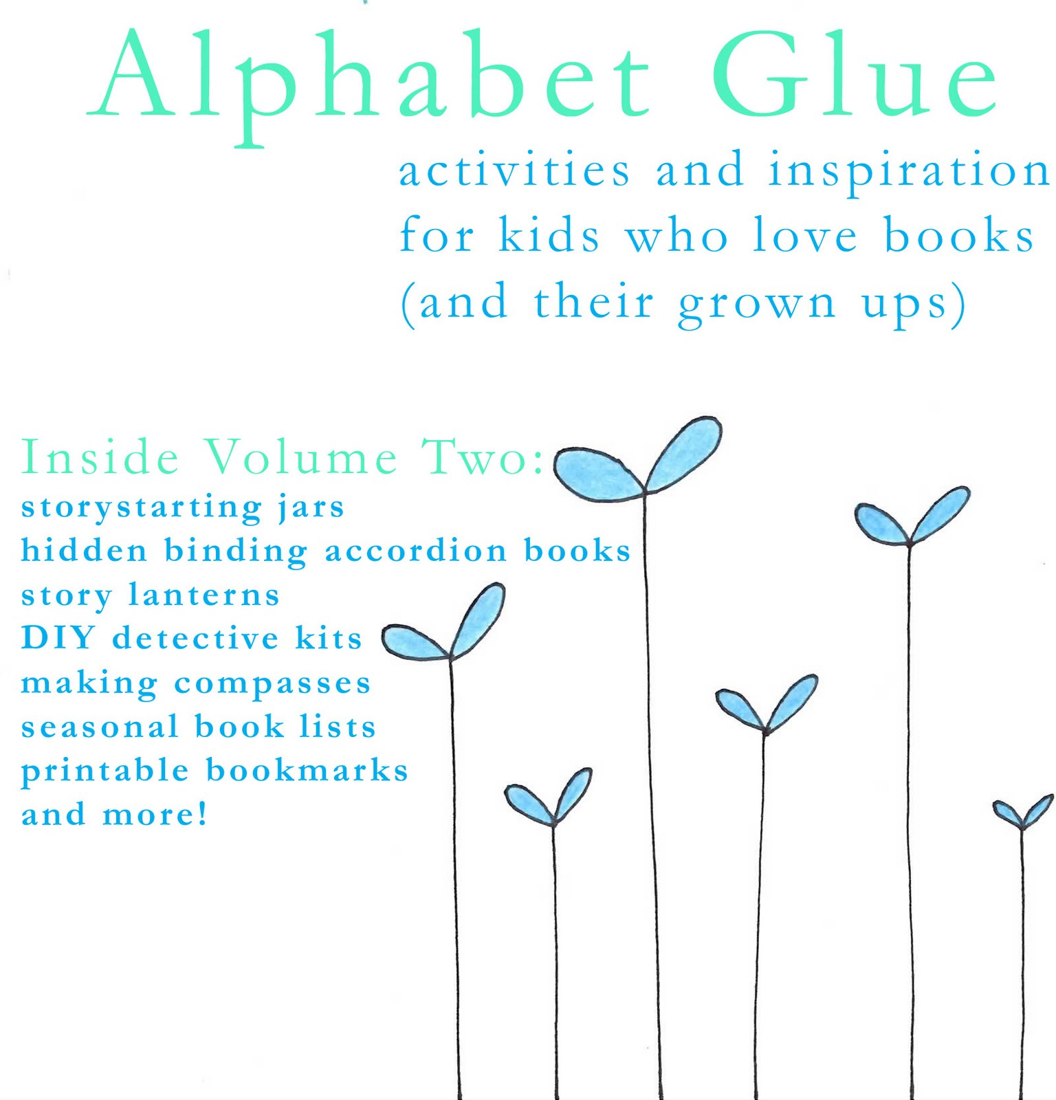 Follow the White Bunny: Alphabet Glue Giveaway & Interview !