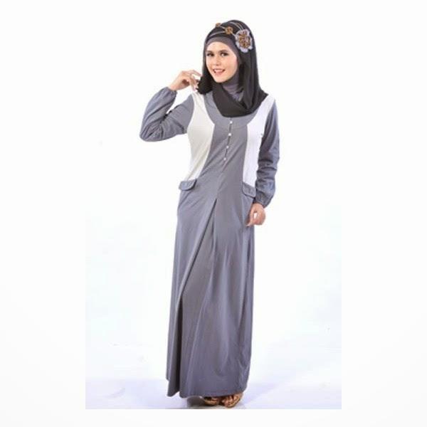 Contoh Model Baju Gamis Muslim Untuk Lebaran