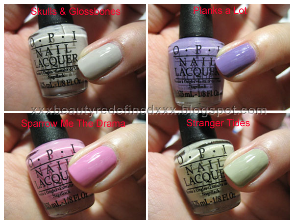 Beautyredefined By Pang Opi Swatches Pirates Of The