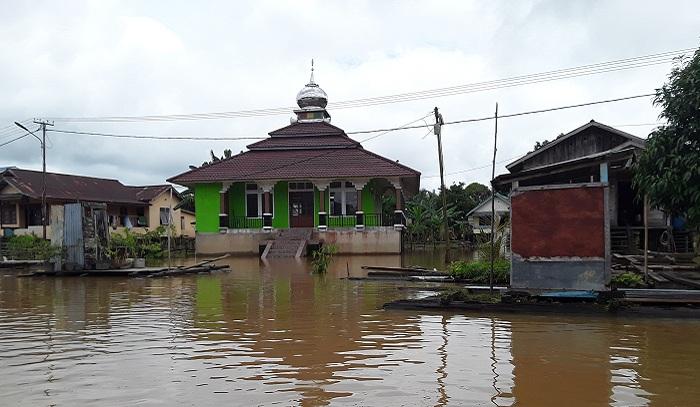 Desa Tanjung Terendam Banjir
