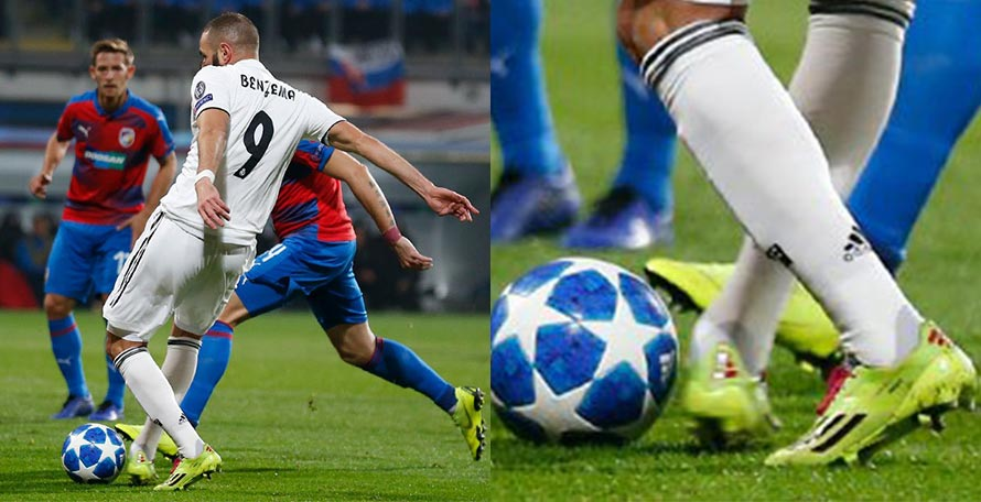 4ec89d5df Benzema Returns to 2014 Adidas Adizero Boots to Score 200th Real Madrid Goal
