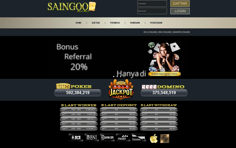Bandar Poker Online Terpercaya Deposit 20 ribu