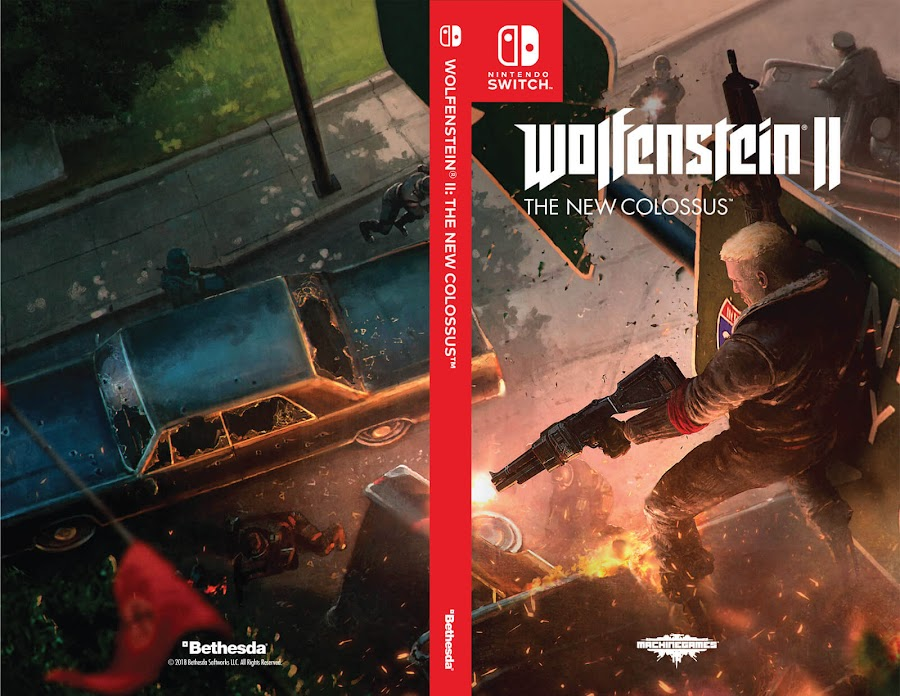 wolfenstein ii the new colossus switch cover