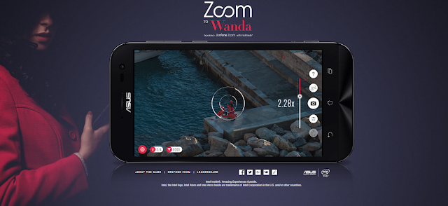 Asus announces Zoom to Wanda, an interactive online hunt game, featuring ZenFone Zoom