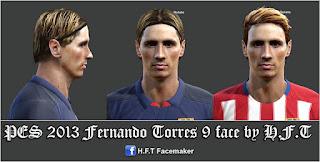 New face Fernando Torres 2016 Pes 2013