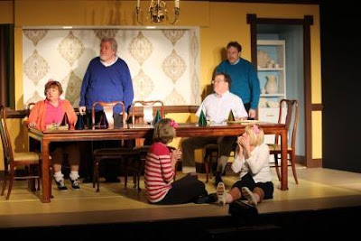The Dinning Room, a  play staring Annie Zannetti all about life in a dinning room.  Photo borrowed from HCP's Facebook page