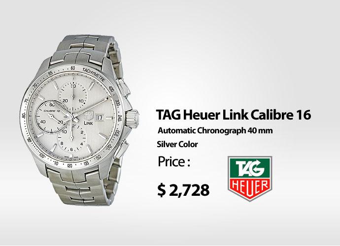 8a6501aa9c4 TAG Heuer Link Calibre 16 CAT2010 BA0952
