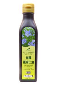 ニューサイエンス 有機亜麻仁油 カナダ産小ボトル