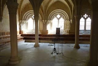 Sala Capitular, Monasterio de Poblet.