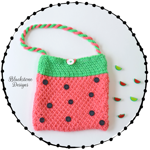 Handbag using Tunisian Crochet
