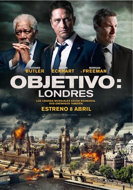 Concurso 'Objetivo: Londres': Tenemos DVDs de 'Objetivo: La Casa Blanca' para vosotros