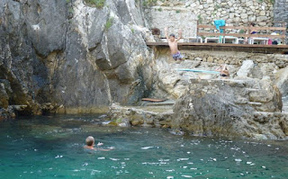La Grotta Beach Bar, Palaiokastritsa.