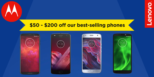 Motorola Holiday deals offers up to $200 off smartphones