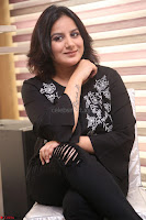 Cute Poja Gandhi in black dress at Dandupalyam 2 Movie press meet  ~  Exclusive 03.JPG