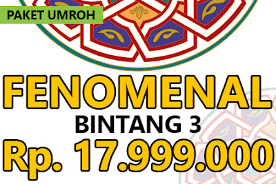 Paket Umroh Mei 2017 Bintang 3