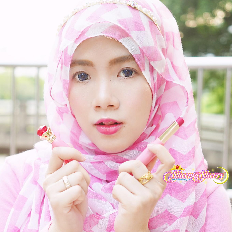 Sheemasherry Sheema Sherry Sailor Moon Miracle Romance Makeup Moisture Rouge Moonlight Memories Disguise Pen Kawaii Hijabi Hijab Muslimah Japan