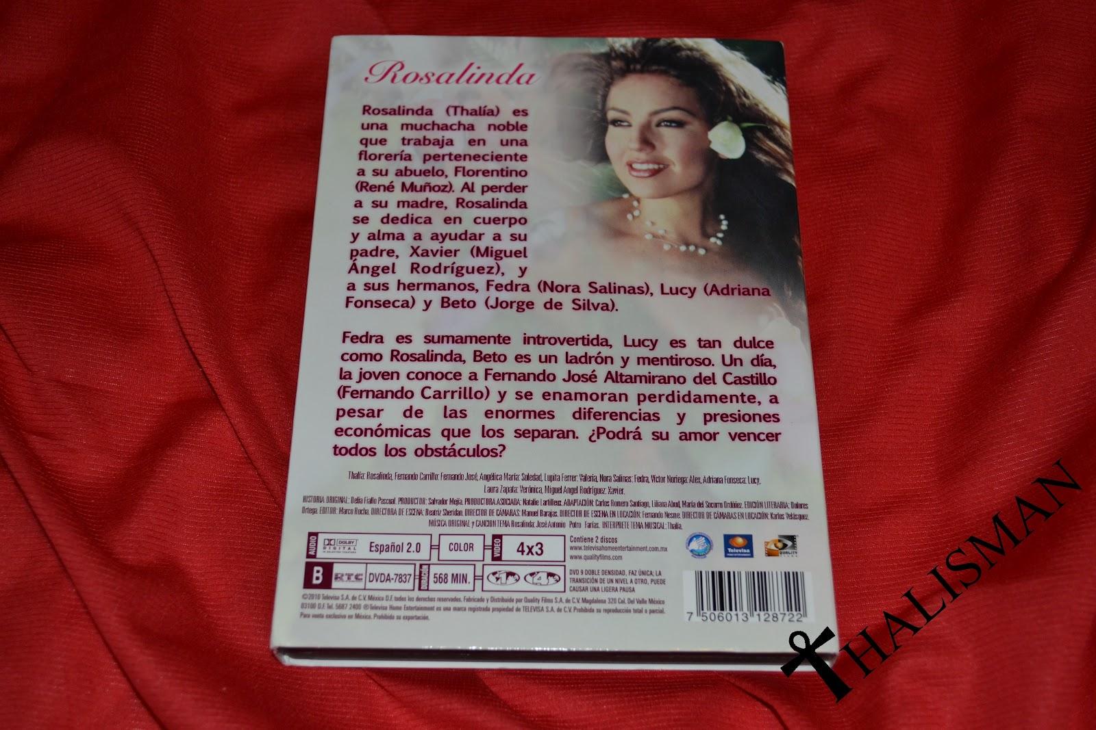 Museo Thalía en Nebraska: DVD - Rosalinda - Mexico