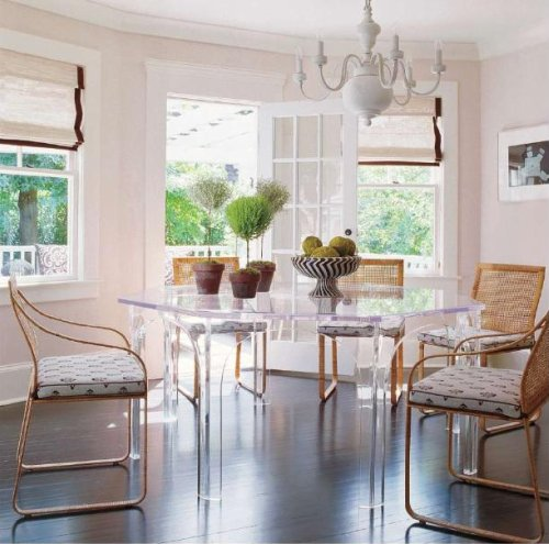 Lucite Dining Room Table: The Design Affair: Happy Birthday Lucite...P.S. I LOVE YOU